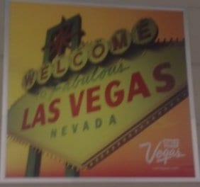 Welcome sign saying Las Vegas, Nevada